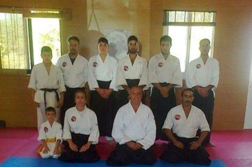 July 2013,Seminar with sensei Babis Keranis shidoin 5th dan president of Hellenic Aikido Association