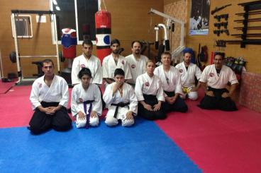 With Sensei Maxim Lunev  April 2013