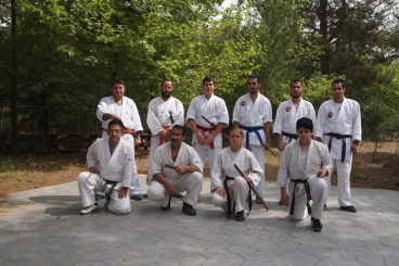 3rd day with Sensei Masahiro Nagaoka and bokken trainning