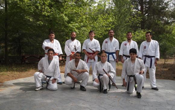 3rd May with Sensei Masahiro Nagaoka and bokken trainning