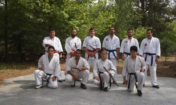 3rd May with Sensei Masahiro Nagaoka and bokken trainning