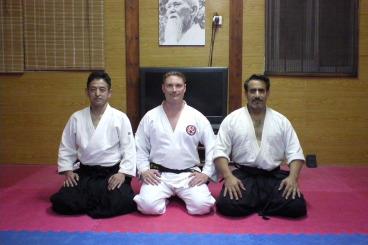 1st May Sensei Masahiro Nagaoka and Sensei Bret Smith
