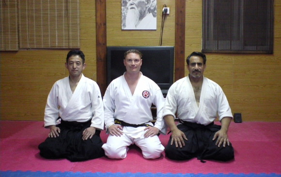 1st May Sensei Masahro Nagaoka and Sensei Bret Smith