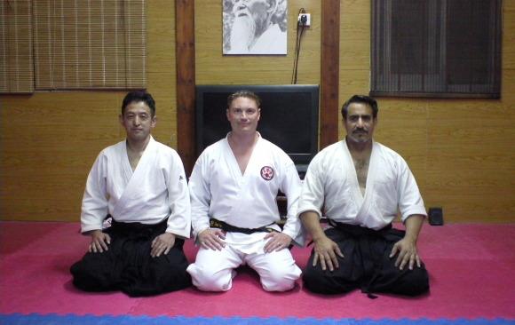1st May Sensei Masahro Nagaoka and Sensei Bret Smith
