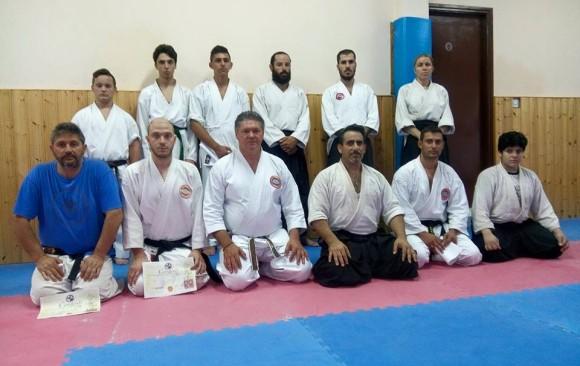 Sensei Marios Constantinou seminar at Aglantzia Shotokan Center 16.7.2015(shihan Costas Ellinides dojo)