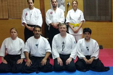 26 April 2016 SEMINAR WITH SENSEI MAXIM LUNEV FROM RUSSIA.