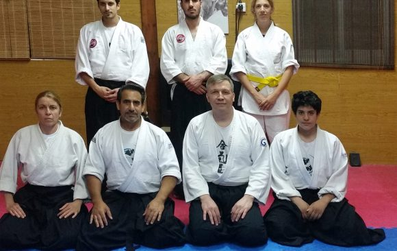 26 April 2016 Seminar with Sensei Maxim Lunev 3rd dan Aikikai from Russia