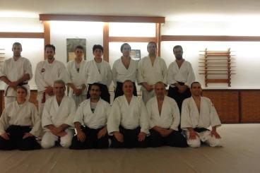 In Hellenic Aikido Association - Fukushinkan Dojo in April 2016
