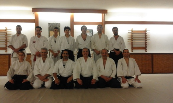 In Hellenic Aikido Association - Fukushinkan Dojo in April 2016