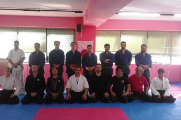 6 April 2016 Sensei Marios Constantinou ,Seminar in Tenjin Dojo in Greece.
