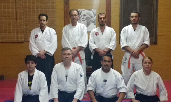 4 May 2016 second day seminar with Sensei Maxim Lunev