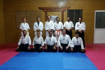 13 MAY 2016 3rd day of seminar and last with Sensei Maxim Lunev