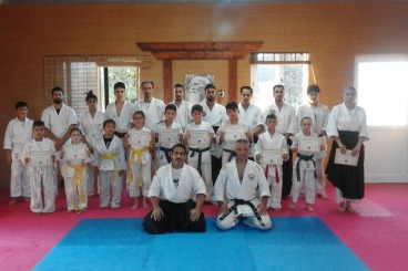 1st July 2016 Seminar Karate Wadoryu,with Sensei Simos Constantinou 4th dan