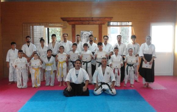 1st July 2016 Karate Wadoryu seminar with Sensei Simos Constantinou 4th dan