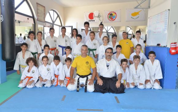 I was guest of honor at the award of kyu ranks in Karate dojo 26-7-2016