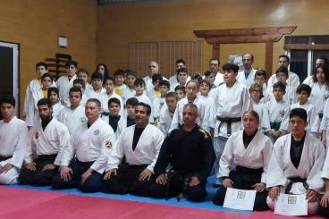 1ST DAY SEMINAR WITH SENSEI MARIOS CONSTANTINOU AND SENSEI BRET SMITH IN NAMI DOJO