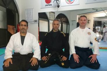 2ND DAY SEMINAR WITH SENSEI MARIOS CONSTANTINOU AND SENSEI BRET SMITH