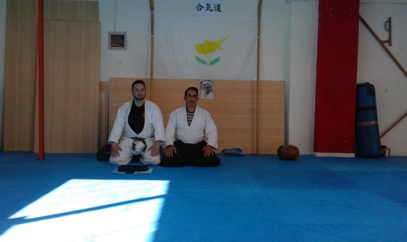 1st April 2017 Sensei Vangelis Makris Shodan exams in Athens