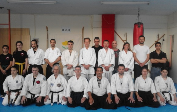 1st April 2017 Sensei Marios Constantinou seminar in Athens