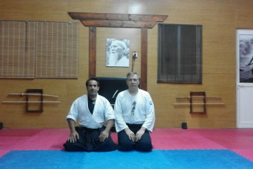 2 MAY 2017 1st day SENSEI MAXIM LUNEV FROM RUSSIA SEMINAR