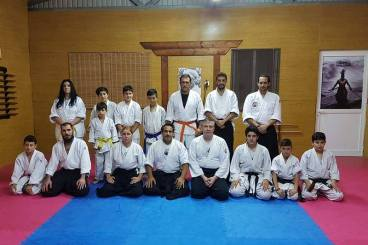 5 May 2017 2nd day with sensei Maxim Lunev