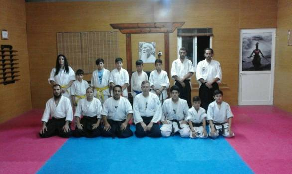 12 May 2017 3rd day of seminar with Sensei Maxim Lunev (aikikai)