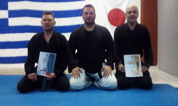 Awarding awards 2017 Cyprus Aikido Academy Hellas