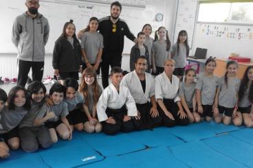 Aikido Seminar in primary school Agios Epiphanios ,Malounta and G C School