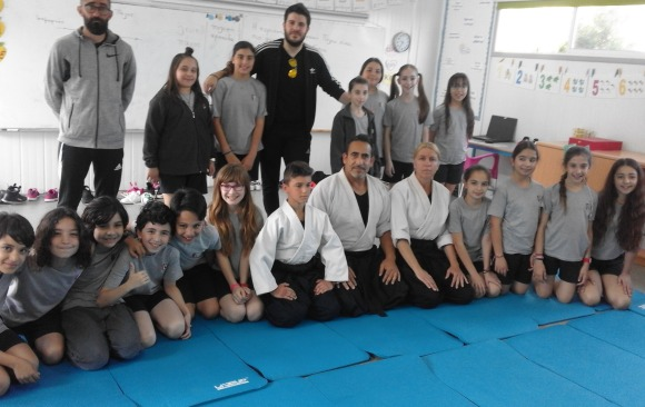Aikido Seminar in primary school Agios Epiphanios ,Malounta and G C School